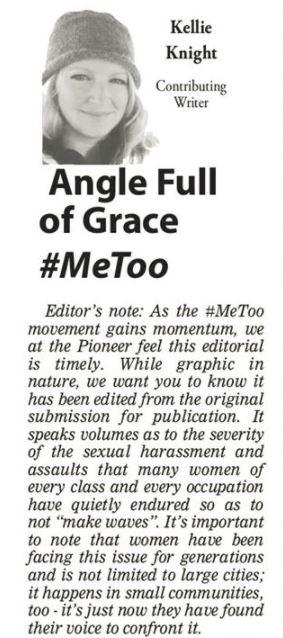 Column 70 Me Too Editors Note