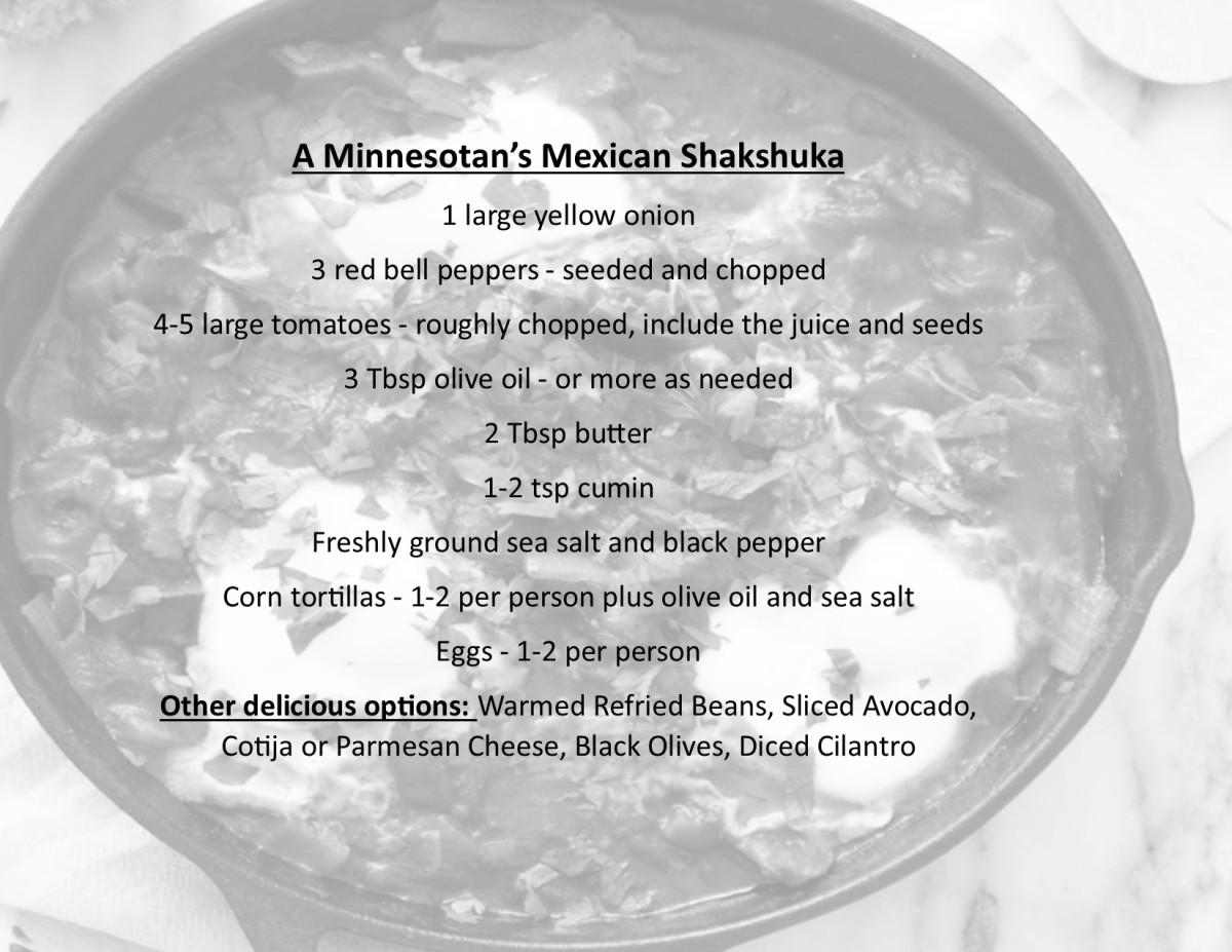 Tastes of The Angle – MexicanShakshuka