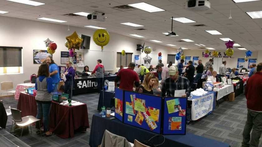 Polaris employees take advantage of a recent Health Fair