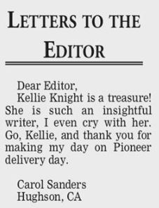 Feb 6 2018 letter to the editor