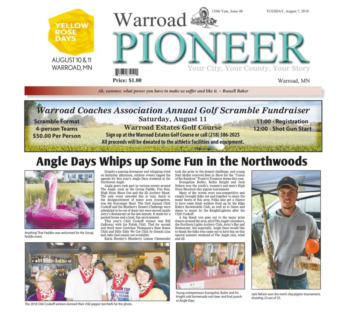 Angle Days Whips up Some Fun in theNorthwoods